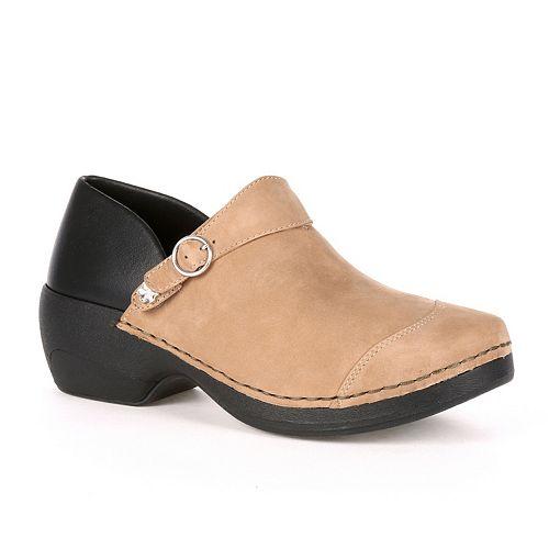 Rocky 4EurSole Inspire Me Women's Nubuck Leather 3-in-1 Clogs
