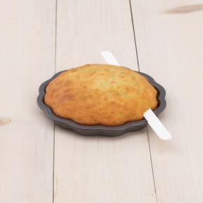 Sweet Creations 3-pc. Nonstick Scallop Layered Cake Pan Set