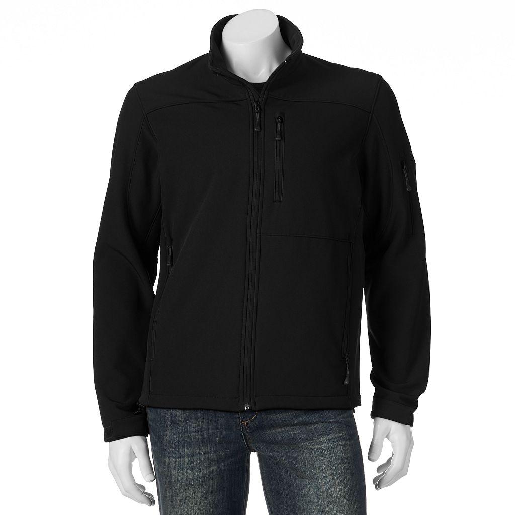 Big & Tall ZeroXposur Colorblock Softshell Jacket