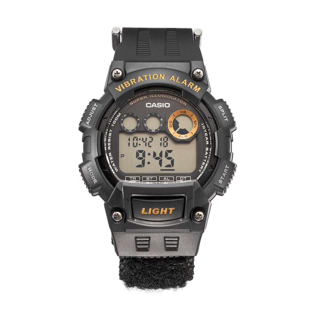 Casio Men's Sports Vibration Alarm Digital Chronograph Watch