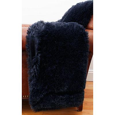 Thro by Marlo Lorenz Chubby Faux Fur Throw