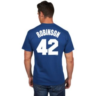 Men's Majestic Brooklyn Dodgers Jackie Robinson Player Tee