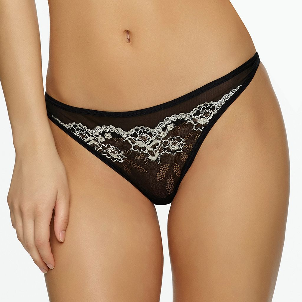 Jezebel Demure Lace Thong Panty 50039
