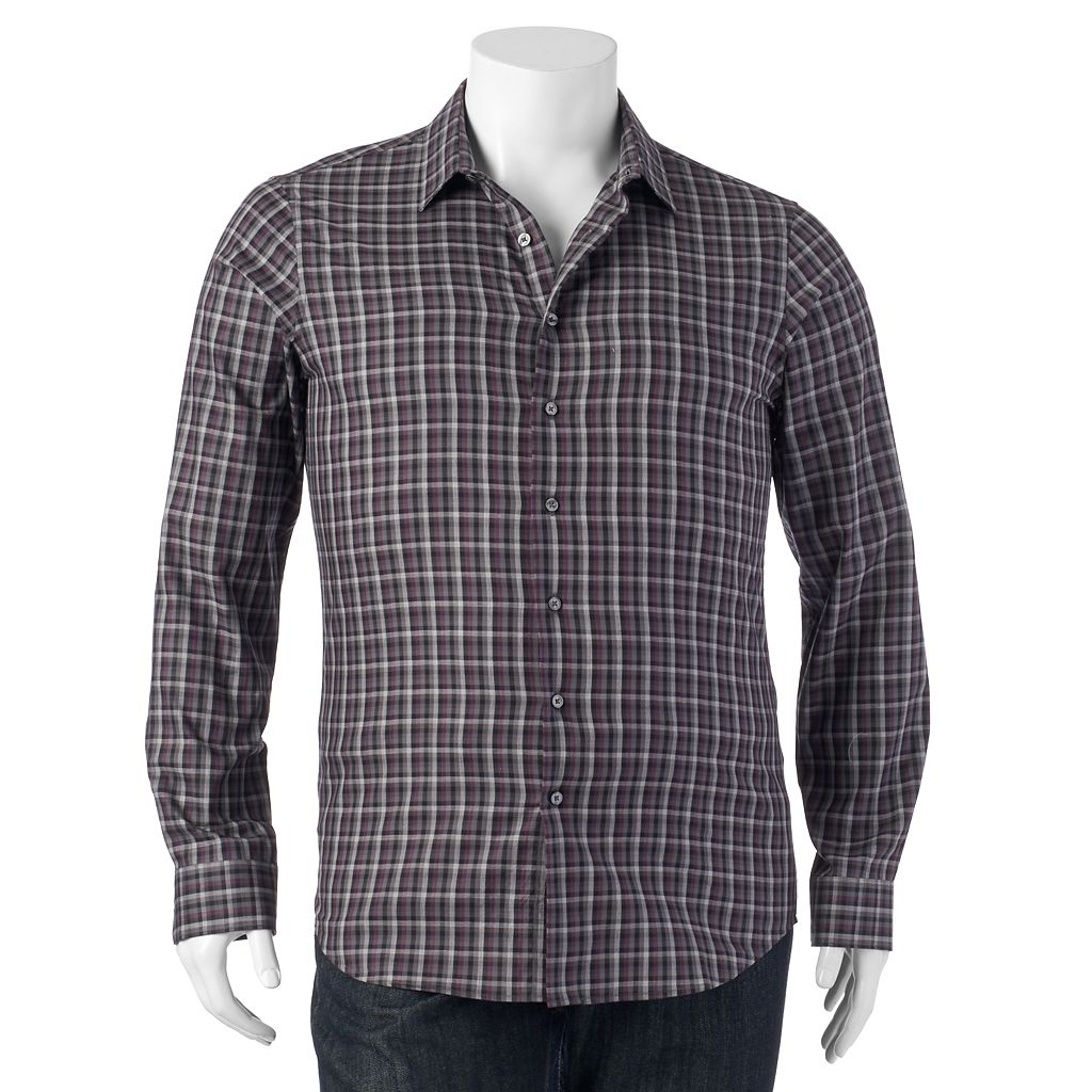 Big & Tall Apt. 9® Work Week Classic-Fit Button-Down Shirt