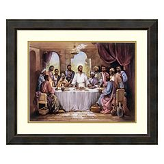 Amanti Art The Last Supper Framed Wall Art