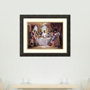 Amanti Art The Last Supper Framed Wall Art