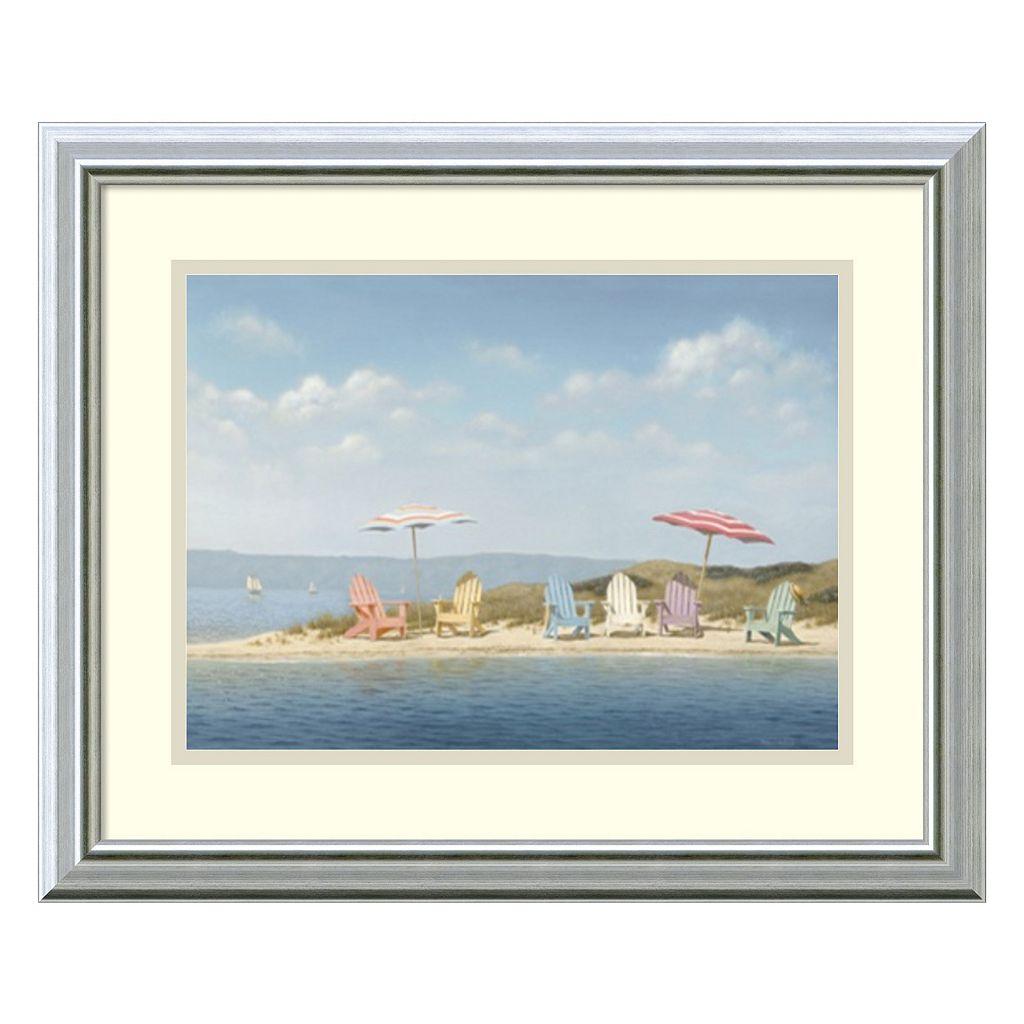 Amanti Art Summer Colors Framed Wall Art