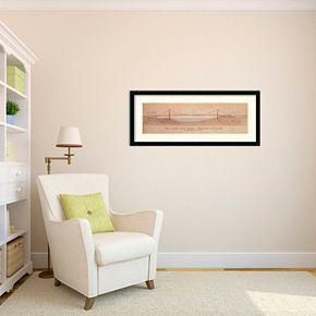 Amanti Art Golden Gate Bridge Framed Wall Art