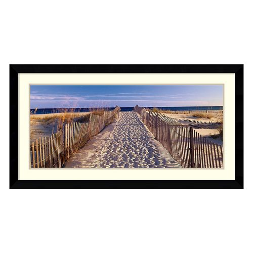 Amanti Art Pathway to the Beach Framed Wall Art