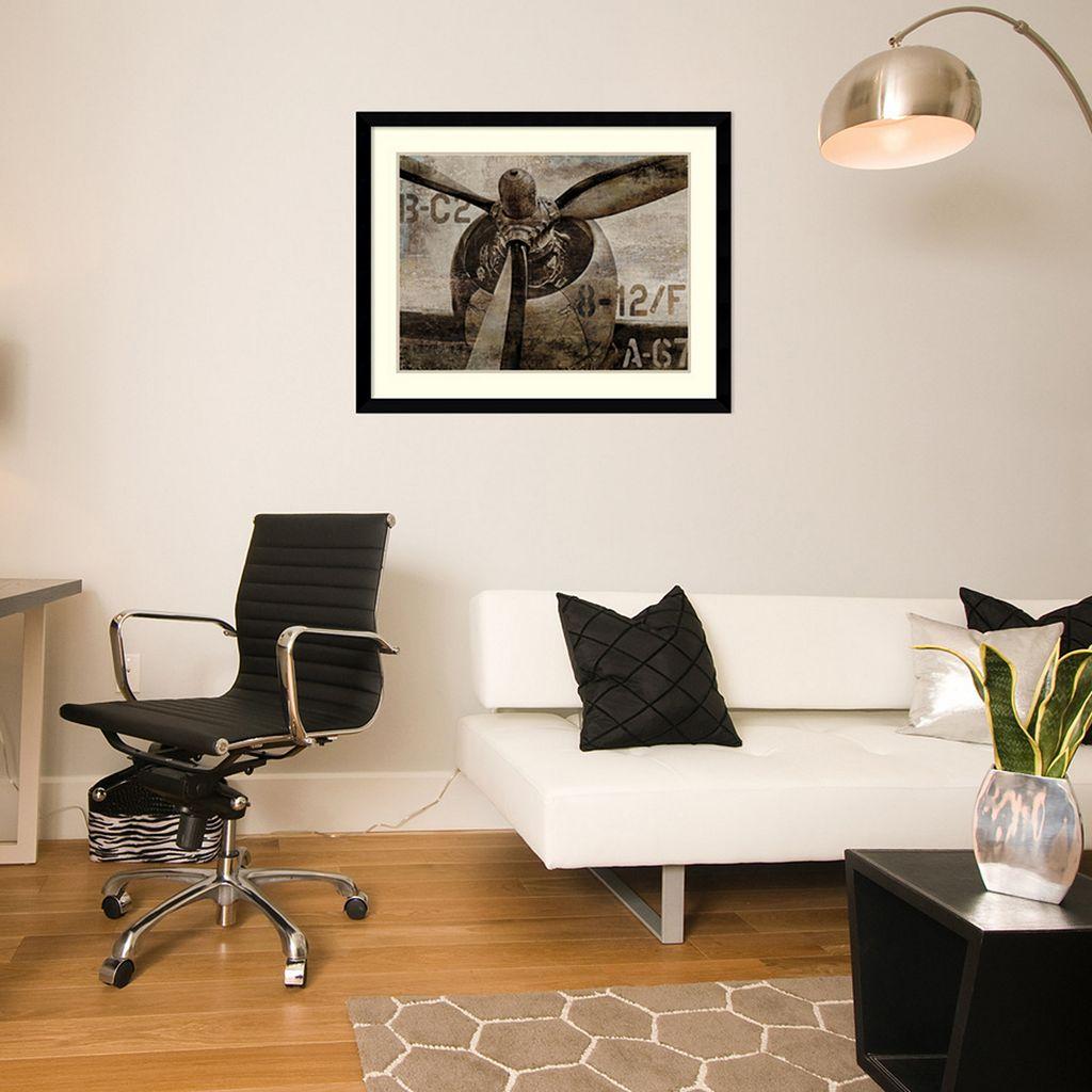 Amanti Art Vintage Propeller Framed Wall Art