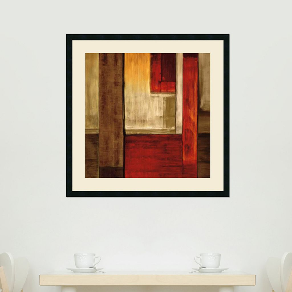 Amanti Art Crossover II Framed Wall Art