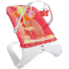 Fisher-Price Comfort Curve Floral Confetti Bouncer