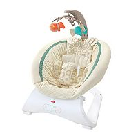 Fisher-Price Soothing Savanna Deluxe Bouncer