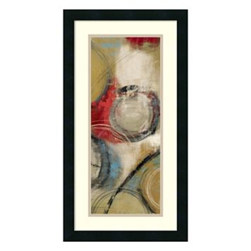 Amanti Art Elemental Circles II Framed Wall Art