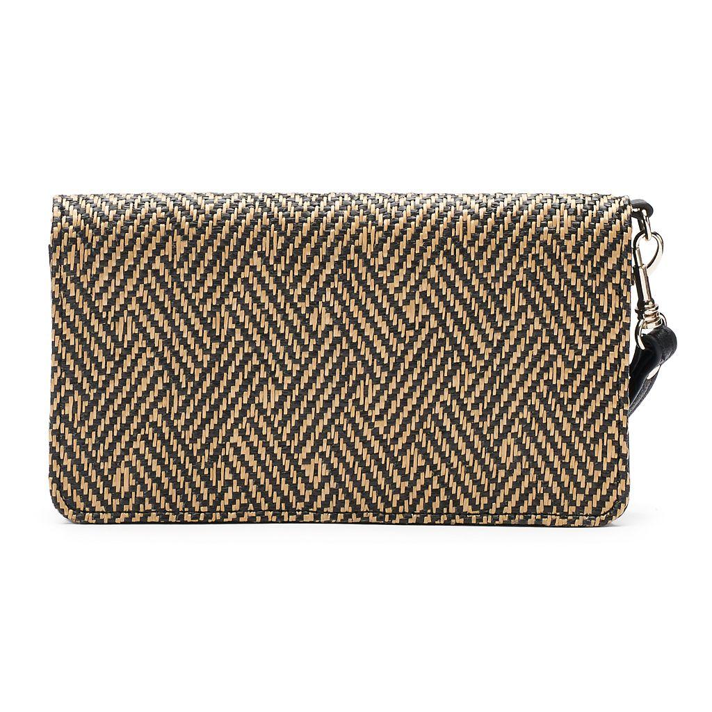 Apt. 9® Margo Woven Flap Wallet