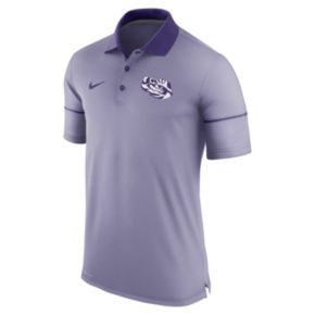 Men's Nike LSU Tigers Champ Drive Dri-FIT Polo