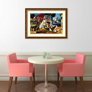 "Amanti Art ""Paysage Mediterraneen"" Framed Art Print by Pablo Picasso"