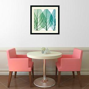 Amanti Art Celosia Leaves II Framed Wall Art