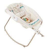 Fisher-Price Deluxe Newborn Soothing Savanna Rock 'n Play Sleeper