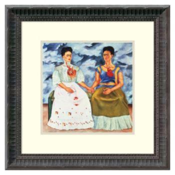Amanti Art Frida Kahlo The Two Fridas Framed Wall Art