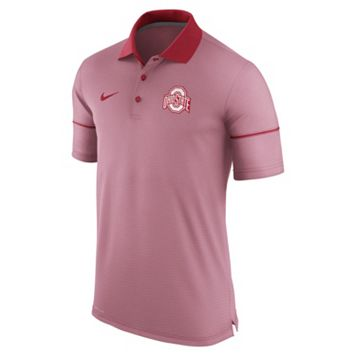 Men's Nike Ohio State Buckeyes Champ Drive Dri-FIT Polo