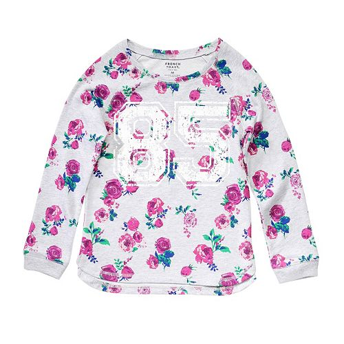 Girls 4-6x French Toast French Terry Graphic Top