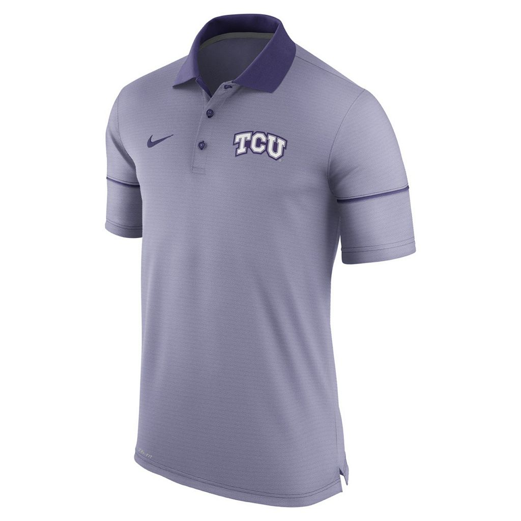 Men's Nike TCU Horned Frogs Champ Drive Dri-FIT Polo