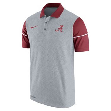 Men's Nike Alabama Crimson Tide Sideline Dri-FIT Polo