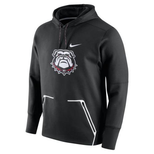 Men's Nike Georgia Bulldogs Vapor Speed Fleece Hoodie