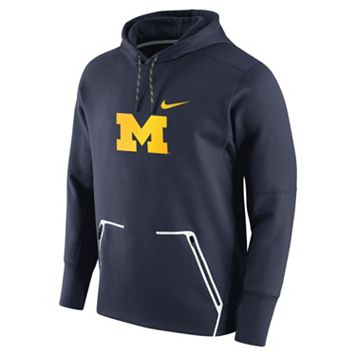 Men's Nike Michigan Wolverines Vapor Speed Fleece Hoodie