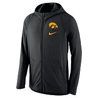 Men's Nike Iowa Hawkeyes Hyperelite Full-Zip Fleece Hoodie