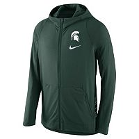 Men's Nike Michigan State Spartans Hyperelite Full-Zip Fleece Hoodie