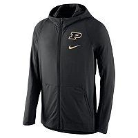Men's Nike Purdue Boilermakers Hyperelite Full-Zip Fleece Hoodie