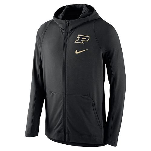 Men's Nike Purdue Boilermakers Hyperelite Full-Zip Fleece Hoodie