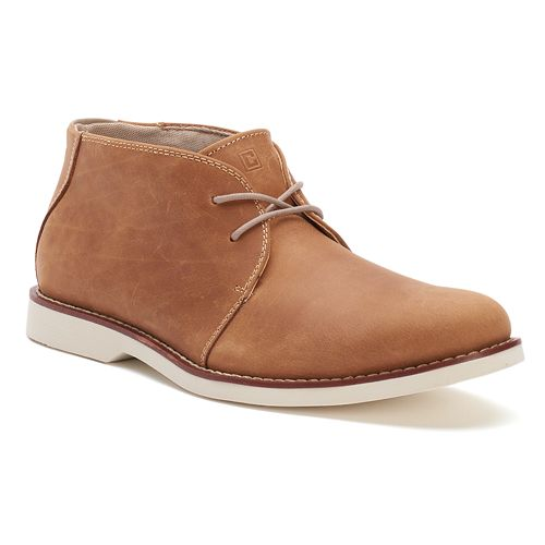 Chaps Parsons Men's Leather Chukka Boots