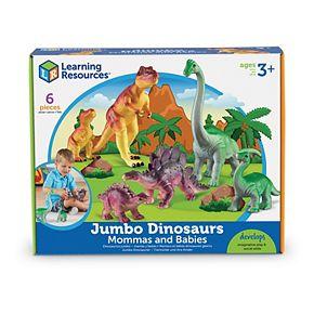 Learning Resources 6-pc. Mommas & Babies Jumbo Dinosaurs