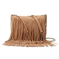 SONOMA Goods for Life™ Marguerite Fringed Crossbody Bag