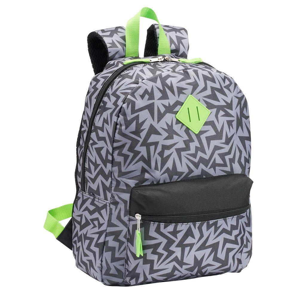 Kids Abstract Zig Zag Backpack