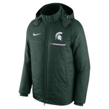 Men's Nike Michigan State Spartans Sideline Jacket