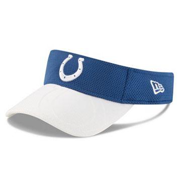 Adult New Era Indianapolis Colts Sideline Adjustable Visor
