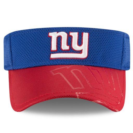 Adult New Era New York Giants Sideline Adjustable Visor