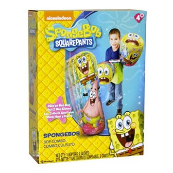 Spongebob Squarepants Hedstrom Bop Bag & Gloves Set
