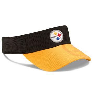 Adult New Era Pittsburgh Steelers Sideline Adjustable Visor
