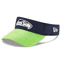 Adult New Era Seattle Seahawks Sideline Adjustable Visor