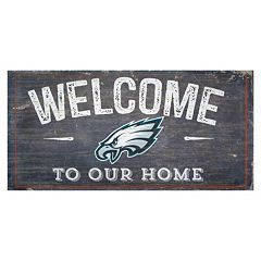 Philadelphia Eagles Distress Welcome Sign