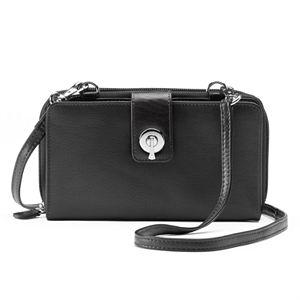 ili RFID-Blocking Leather Smartphone Wallet
