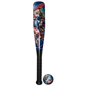 Marvel Avengers 21'' Foam Bat & Ball Set