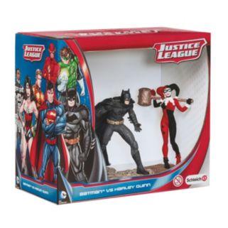 Schleich Batman vs. Harley Quinn Justice League Figurine Set by Schleich