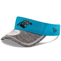 Adult New Era Carolina Panthers Training Adjustable Visor