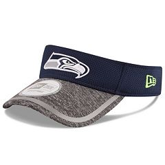 Adult New Era Seattle Seahawks Training Adjustable Visor